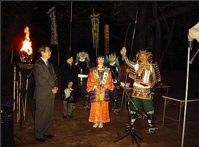 伊達宗忠夫妻、大乗院と須田美濃守