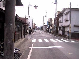 内堀跡(諏訪町田善通り)